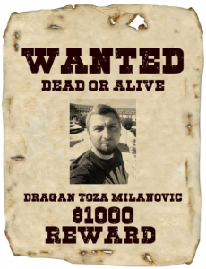 Dragan wanted