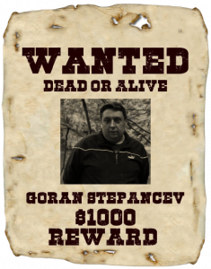 Goran wanted